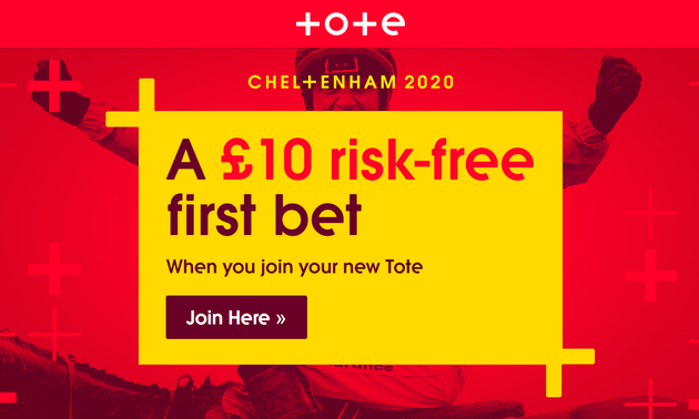 Tote £10 Risk Free First Bet
