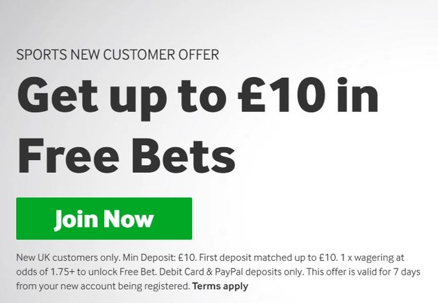 Betway offer