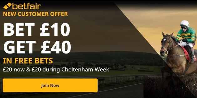 New Betfair offer